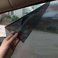 Car Sunshade UV Protection Side Window 2 Pcs Accessories Sticker Sun Shade