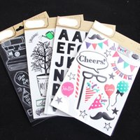 Sunday  Letters  Cute Self- Adhesive Paper Sticker For Scrapbooking  DIY Crafts  Card Making Decoration Gift Wrap
