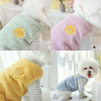 Winter Pet Clothes Dog Clothing Coat Jacket Vest Cat For Small Dogs Cute Warm Fleece Costume Apparel