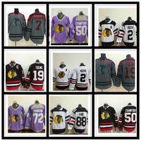 Chicago Blackhawks Jersey 19 Jonathan Toovs 88 Patrick Kane 12 Alex Debrincat Stitched 2 Duncan Keith Hockey Jerseys Uniforme Camisa