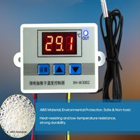 Smart Home Control Intelligent Led Digital Microcomputer Temperature Controller XH-W3002 Mini Thermostat Switch With Water-resistant Sensor