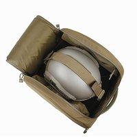 Utomhusväskor TMC Hjälm Hut Multicam Tactical Storage Bag 500D Carrier Paket för bergsklättring
