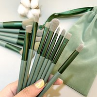 Makeup Brushes 12 13pcs Eye Set Shadow Eyebrow Power Facial Cosmetic Brush Tools Foundation TSLM1
