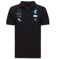 Summer F1 World Formula One Championnat Course Polo Jersey T-shirt à manches courtes à séchage rapide