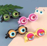 Lustige Streichbrille Spielzeug Horror Augapfel, verrückte Augen Spielzeug liefert Kinderparty für Halloween Chrismas Geschenk Gag