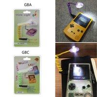 GBA GBC 웜 라이트 GB 소년 LED 게임 콘솔 웜 라이트 램프를위한 책 조명 유연한