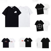 2021 Monclair Herren T-Shirts Luxus Marke Designer T-Shirt Sommer Mode Trend Reine Baumwolle Atmungsaktive kurzärmlige Revers