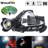 Headlamps Powerful XHP99 Led Headlamp Zoomable Head Light Torch Portable Waterproof Outdoor Hiking Fishing Headlight 3 Modes No Battery