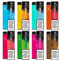 Original VFOG Einweg-Vape-Stift-Zigaretten 15 Farboptionen 800 Treffer + Batterie 500mAh-Kapazität 1.8ml Puffleisten