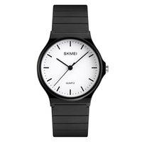 SKMEI Fashion Simple Women Luxury Brand Quartz Watch Silicone Waterproof Wrist Watches For Girls Montre Femme