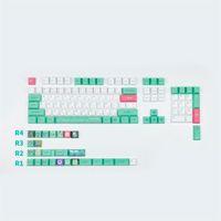 Keycap Japanese Frog Cherry Profile Keycaps 6.25U Spacebar For GH60 GK61 GK64 84 87 104 108 Mechanical Keyboard Mouse Combos