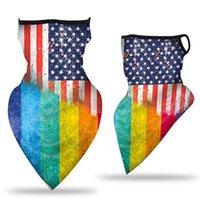 Шарфы идеальный дышащий шеи крышка женские тканевые лица флаг быстрый сухой шарф ветрозащитные теплые гетры на открытом воздухе спорт
