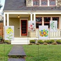 30*45cm Sublimation Blank Flag Double Sided Heat Transfer Garden Banner DIY Christmas Flags Home Decor Flag