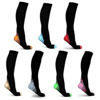 Men's Socks 2021 Fashionable And Women's Magic Compression Elastic Comfortable Trend Sports Knee Fitness Matching Stockings