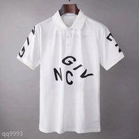 2021FF Erkek Tasarımcı Küçük At Polos Timsah Nakış Giyim Erkekler Kumaş Mektup Polo T-shirt Yaka Rahat Tee Gömlek ZQM Tops