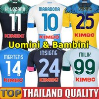 20 21 Napoli soccer jerseys 2021 Naples football shirt set K...