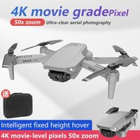 E88 MINI RC DRONE FOLGING AERIALPHOTION 4K HD-Kamera High-Alt-Hold WiFi-Bildübertragung Quadcopter für Anfänger
