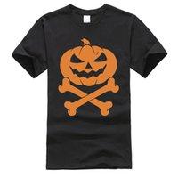 Tops de marque Tees Tees Halloween Scary Scary Skull Bones Découverte T-shirt Nightmare avant Noël Chucky Homme T-shirt personnalisé 210420