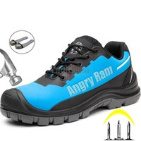 Work Safety Shoes Men 2021 New Boots Waterproof Sneakers Anti-puncture Indestructible Steel Toe Security