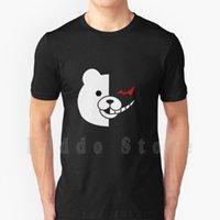 Erkek T-Shirt Dangan Ronpa-Monokuma T Gömlek Baskı Erkekler Için Pamuk Serin Tee Ronpa Danganronpa Monokuma
