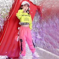 Girls Boutique Orfits مجموعة 4 6 8 10 12 14 16 18 سنة الهيب هوب شارع الرقص ازياء أطفال الجاز طفل فتاة الملابس 130 140 150