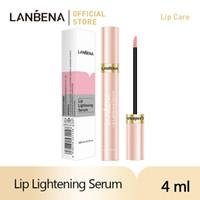 Lanbena Trucco Rossetto Lip Lightening Siero Ciliegio Idratante Rimuovere la melanina Rosa Labbra Long Lasting Cosmetics Strumento Plumper