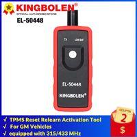Diagnosewerkzeuge Kingbolen EL-50448 Automotive Reifendrucküberwachungssensor TPMS RESET RELEARN-Aktivierungstool Kompatibel für GM-Serie Vehi