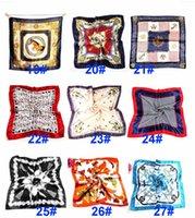 Verano otoño e invierno bufandas pañuelo hembra imitación wersatile profesional pequeño seda seda bufanda OOD5925