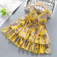 Infant Baby Girl Dress Cotton Regular Sleeveless Dresses Casual Clothing Summer New Children's Skirts Embroidered Baby Skirt