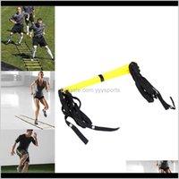 5 correas de la escalera de la agilidad 10 correas de nylon para la velocidad de fútbol Fitness Pies Fútbol Equipo al aire libre ECGVO QZIR9