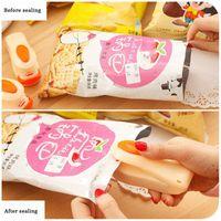 Portatile Mini Sigillo di calore Macchina per la sigillatura Food Clip per uso domestico Impulso Snack Bag Sealer Seal Utensili da cucina Utensili Gadget Strumenti BWF6083