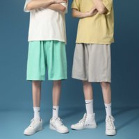 Mode gedruckt Herren Shorts Knie Dichtheit Bermuda Kurze Hosen Broek Sweatshorts Streetwear All Match Comfort Beach Shorts