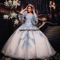 Luxury Quinceanera Dress 2022 Crystal Beads Lace Appliqued Sweet 16 Dresses Off the Shoulder vestidos de XV 15 años