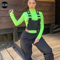 Brust Rig Bag Taktische Weste Harness Front Pack Pouch Holster Weste Rig Hip Hop Streetwear Funktionale Brusttasche Für Männer Taille