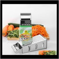 Fruit Vegetable Tools Kitchen, Dining Bar Home & Garden8 Inch Four-Sided Vertex Multi-Function Slicer Stainless Steel Potato Cutting Wireless