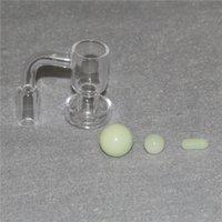 흡연 TERP Slurper 진공 쿼츠 Banger 14mm 남성 Quartzterp Slurpers Bangers Glass Bongs Dab rigs 용 손톱