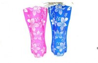 50pcs Creative Creative Clear PVC Vases en plastique Sac d'eau Eco-convivial Vase fleur pliable réutilisable Accueil Mariage Decoration DHE6540