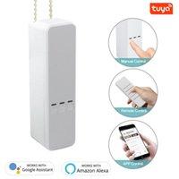 스마트 홈 컨트롤 Tuya WiFi 커튼 롤러 그늘 드라이버 DIY 전기 셔터 모터 수명 자동 커튼 시스템