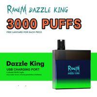 RandM vape wholesale Disposable vape pen E cigarette 3000puffs rechargeable RandM Dazzle king