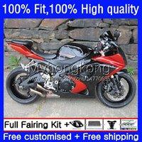 Suzuki GSXR用OEM Body Kit 1000cc 1000cc 1000 CC K7 2007 2008 Bodywork 27no.72 GSXR1000オレンジブラックGSX-R1000 GSXR1000CC 2007-2008 GSXR-1000 07 08注入型フェアリング