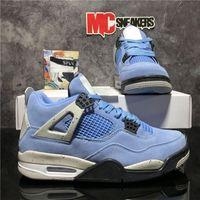 أعلى جودة jingman 4 4 ثانية الرجال النساء أحذية كرة السلة الجامعة الأزرق الشراع كاو المعدنية الأرجواني الأسمنت البديل motorsport برات breds رجل الرياضة المدرب حذاء