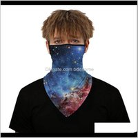 Caps Masks Protective Gear Cycling Sports & Outdoors Drop Delivery 2021 Unisex Multifunction Face Coverings Seamless Bandana Headband Scarves