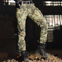 Комплекты одежды Хан Дикие грузовые брюки Брюки для мужчин 2021 Мужской спортивный военный стиль