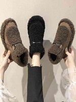 Boots Botas de neve para inverno com plataforma strass, botas antirrapantes e confortáveis da versão coreana das mais vendidas U6VT