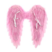 Black Blanco Angel Feather Wings Party Party Costume Cosplay Props Scene Layout Catwalk Demon Devil Wing Show 4 Tamaño