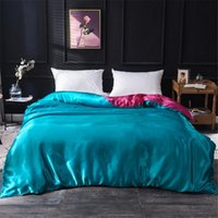 Bedding Sets Luxury 100% Silk Set King Queen Twin Bed Linen Satin Stes With Duvet Cover Sheet Pillowcases Home Textile