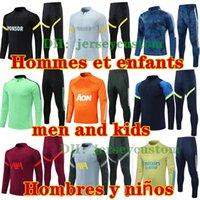 Мужчины + Дети 2021 Мужские Дизайнеры Спортивные Коллегии Футбол Футбол Обучение спортивным спортом Выжитие ноги Hommes Chandal Futbol Sportswear jogging