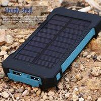 بنك الطاقة الشمسية العالمي 20000mAh بطارية البوليمر للماء في الهواء الطلق شاحن powerbank لجميع الهاتف المحمول