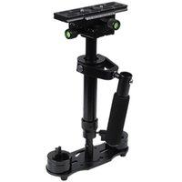 S40 + 0.4m 40 cm Stabilizzatore in lega di alluminio 40 cm Steadycam stabilizzatore per stabilizzatori di videocamera Steadicam AEE DSLR