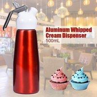 500 ملليلتر N2O موزع كريم سيت القهوة الحلوى صلصات زبدة سيت الألومنيوم سبائك كريم رغوة صانع أدوات كعكة